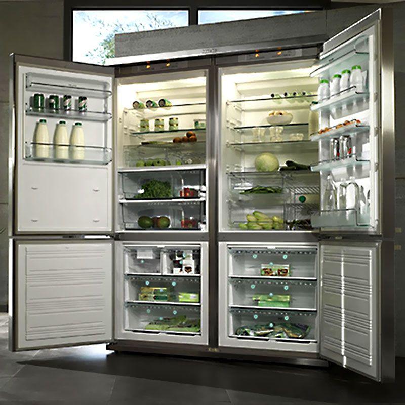 Miele Grand Froid 4 Door Fridge Freezer Equipos De Cocina