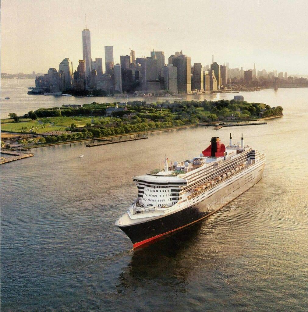 Queen Mary NYC Хочу здесь побывать Pinterest Queen Mary - Cruise ships from nyc