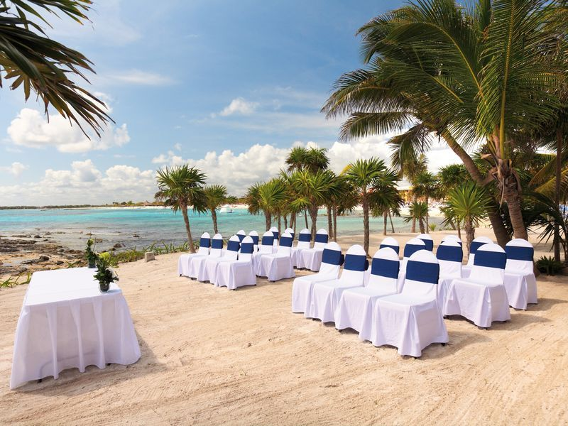 Barcelo Maya Palace Deluxe In Mexico C Beach Possible Ceremony Spot