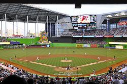 List Of Major League Baseball Stadiums Wikipedia The Free Encyclopedia Major League Baseball Stadiums Baseball Park Baseball Stadium