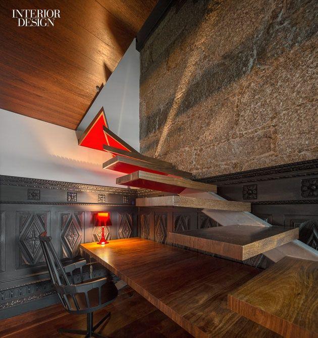 ES1Arq Renovates An 18th-Century Portuguese Farmhouse | #design #interiordesign #interiordesignmagazine
