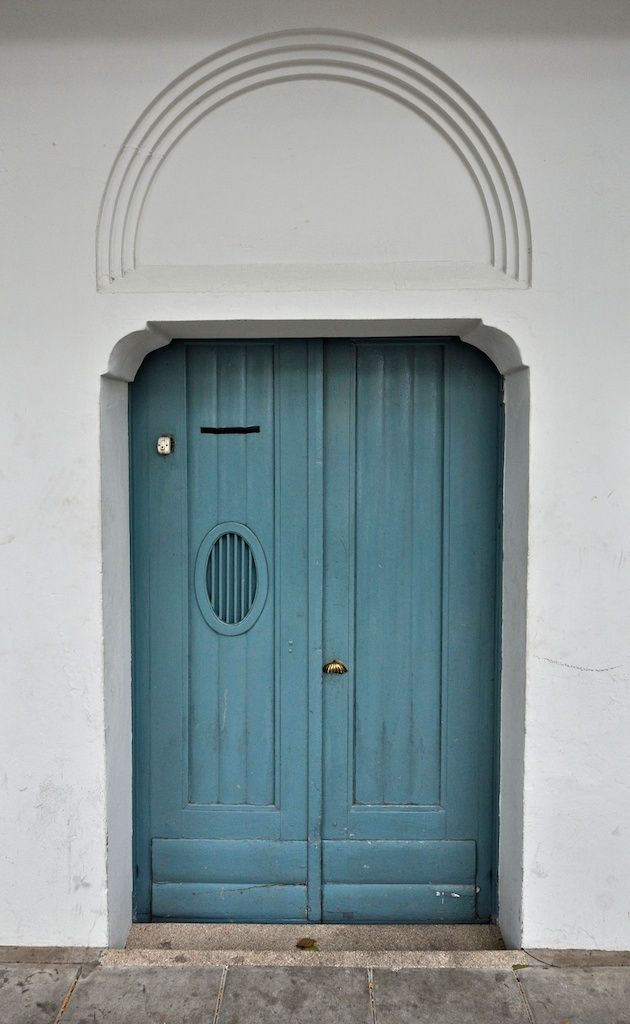 Blue #door in #Bangkok, #Thailand