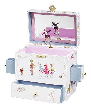 Take a look at this Let's Go Skating Jewelry Box by Enchantmints on #zulily today! #precious #jewelrybox
