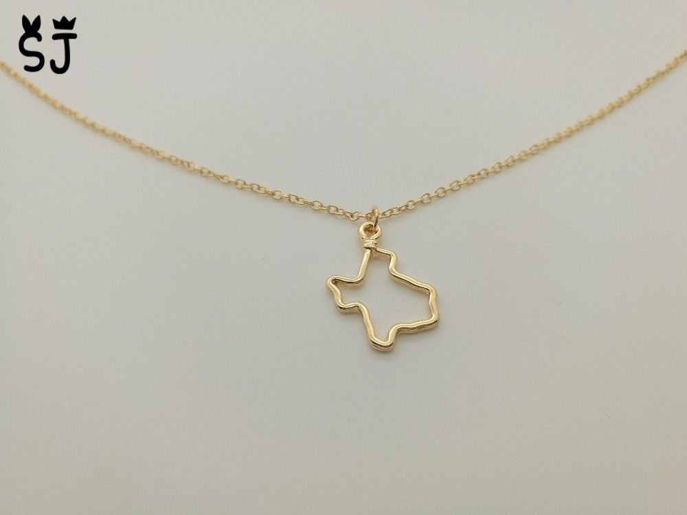 10pcs n119 outline state of texas necklaces hollow texas map 10pcs n119 outline state of texas necklaces hollow texas map necklace america usa state necklaces aloadofball Gallery