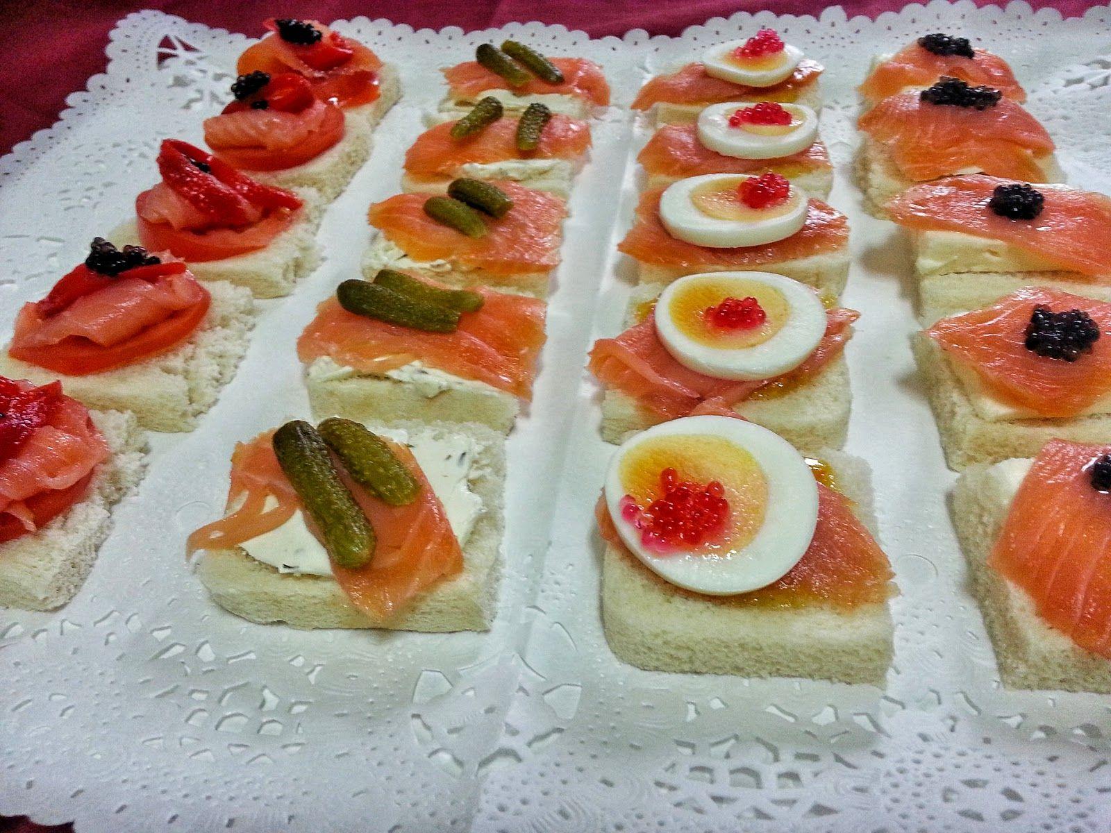 COCINA FÁCIL: Canapés con salmón. Cuatro combinaciones | Cocina ...