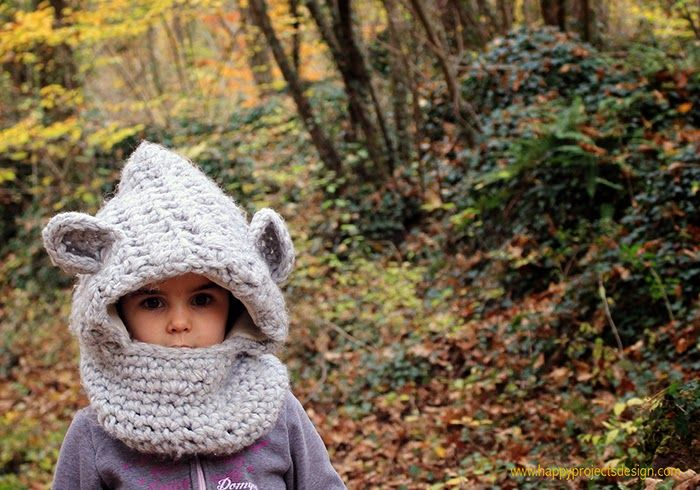 Crochet: gorro oso. happyprojectsdesign