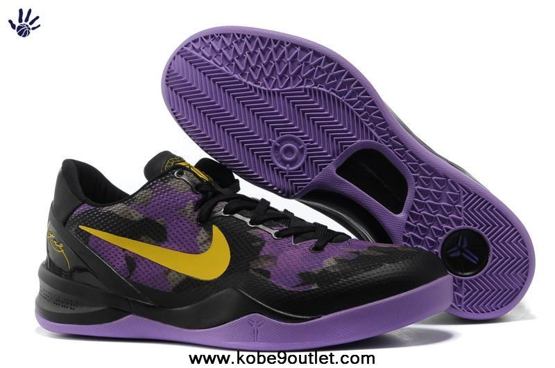 0029e7065df6 Mesh Black Purple 555035 706 Nike Zoom Kobe VIII 8 For Sale