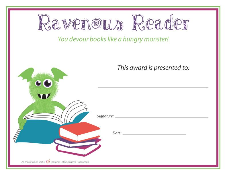 End of the Year Awards u2013 Monster Themed End of, The ou0027jays and - award templates