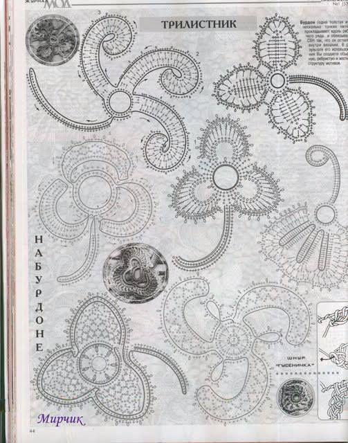 Irische Spitze häkeln - irish crochet motif.. | *CROCHET IRISH ...