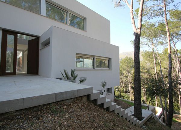 The Lookout House in the Mallorca mountains
