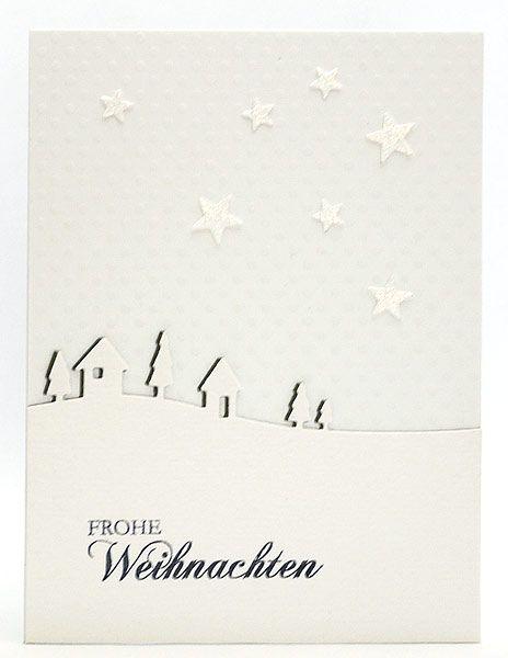 Karten-Kunst » Winterdorf