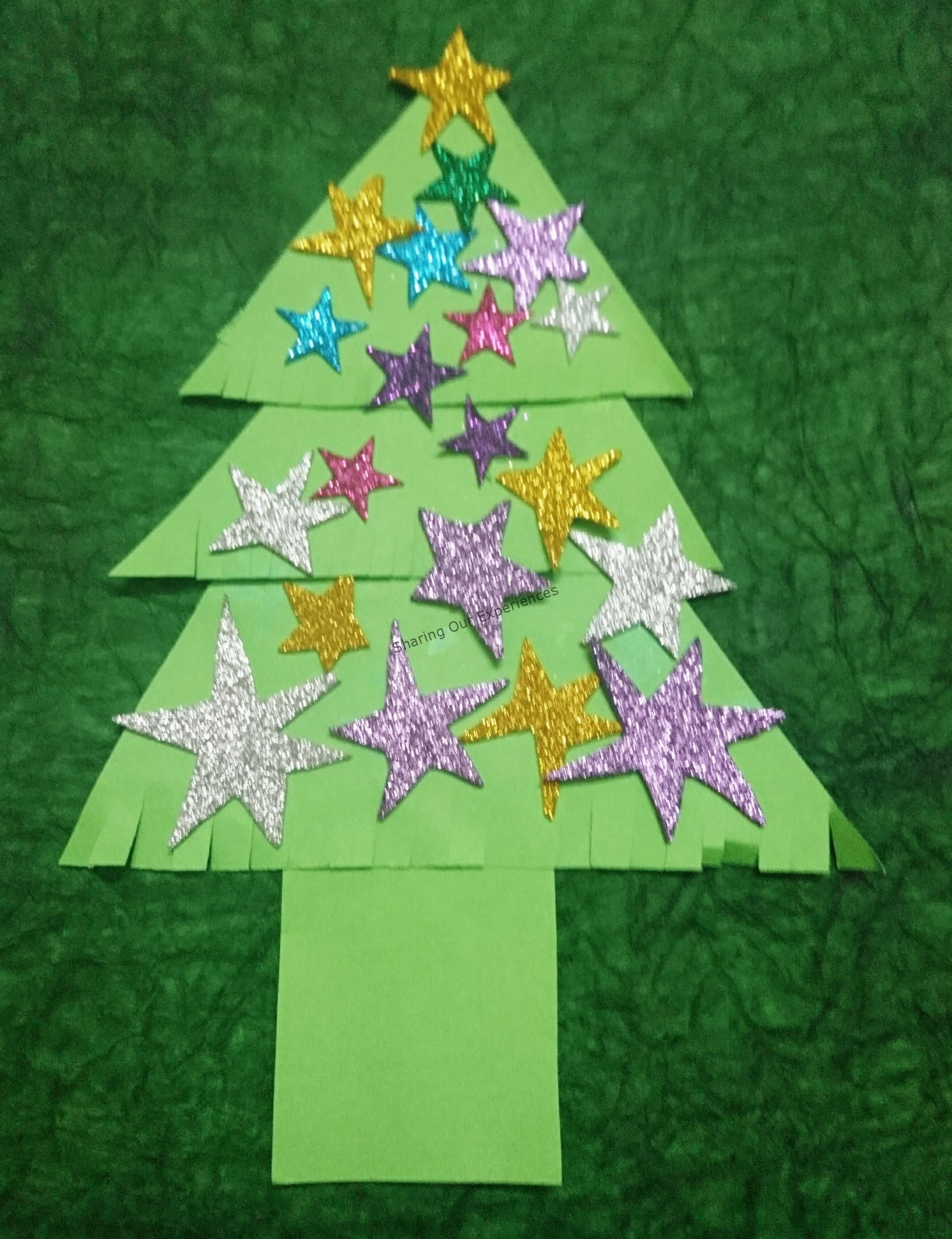 Easy Christmas Tree Crafts Ideas For Toddlers And