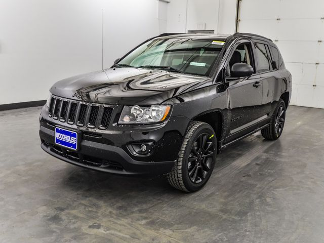Black 2014 Jeep Compass Sport