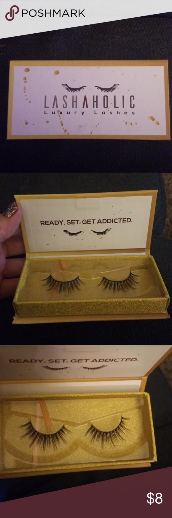 cf65a8848ee Lasholic lashes Brand new in box luxury lashes Makeup False Eyelashes