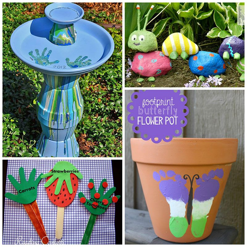 52 Vivacious Summer Porch Decor Ideas: 12 Super Cute Garden Crafts For Kids