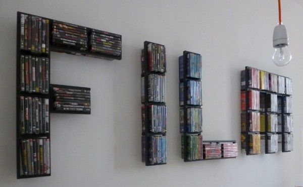 Charmant Dvd Wall Storage | Home Design Ideas