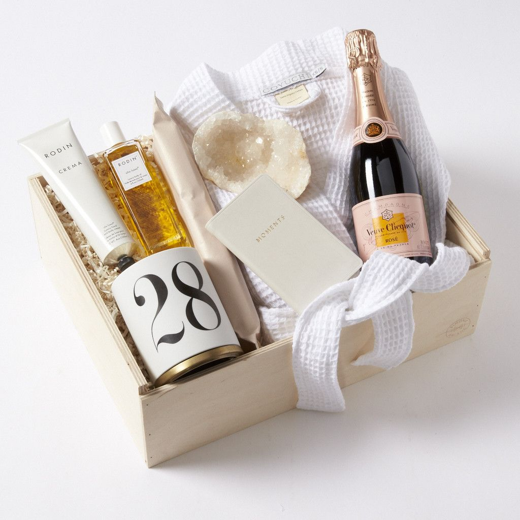 Simone LeBlanc Indulgence Spa Gift Box with Ch&agne : champagne bottle gift box - Aboutintivar.Com