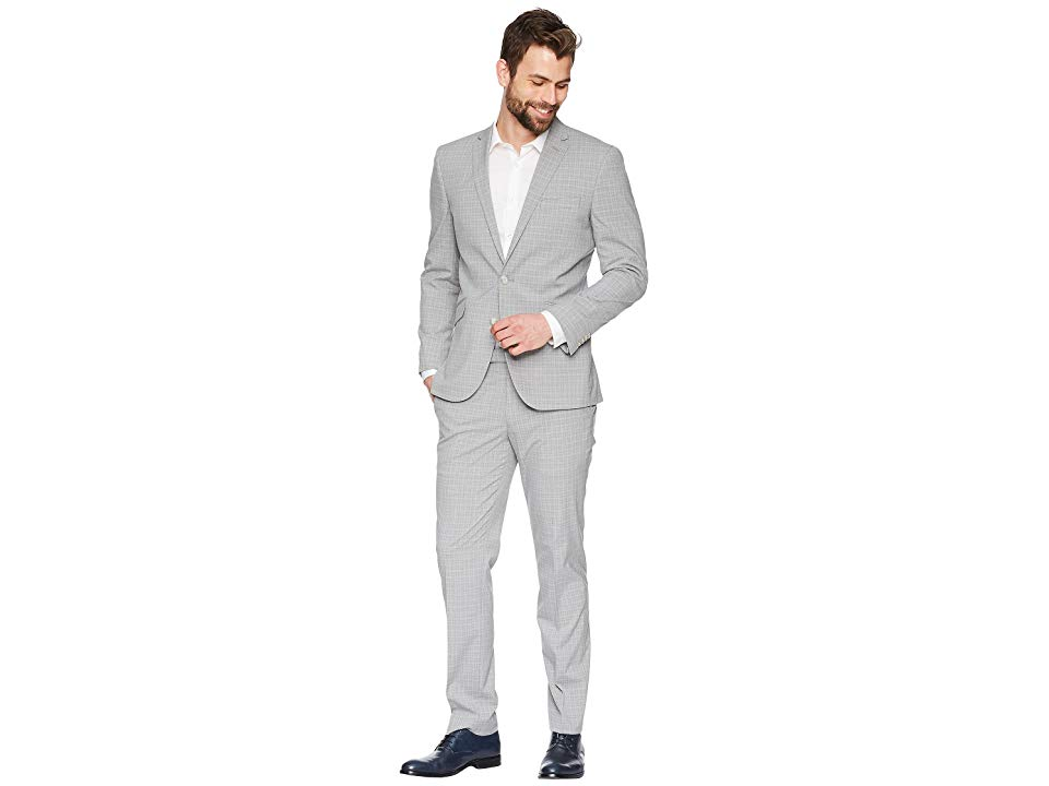 Kenneth Cole REACTION Mens 32 Finished Bottom Suit