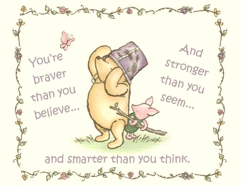 I love this quote! Pooh bear ❤ | disney | Pinterest | Bears ...