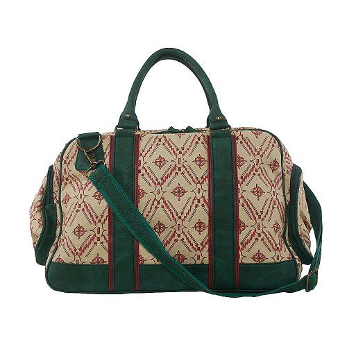 Perfect Hospital Bag - Amykathryn Dandelion Emerald Duffle Bag