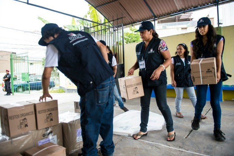 Peru votes on Fujimori daughter in chaotic election