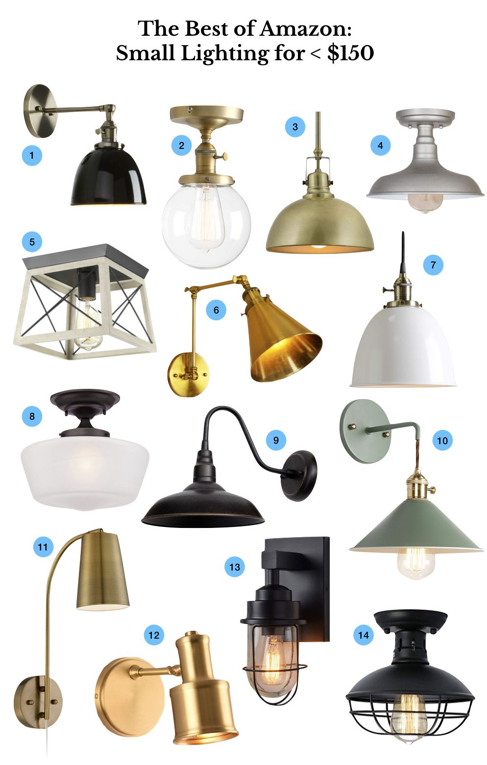 Cheap Light Fittings The Best Inexpensive Small Lighting On Amazon In 2019 Lighting