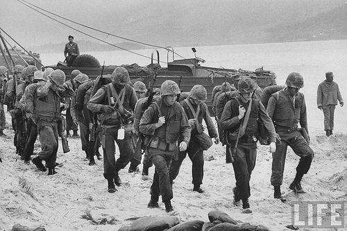 Image result for 1965 marine arrive vietnam