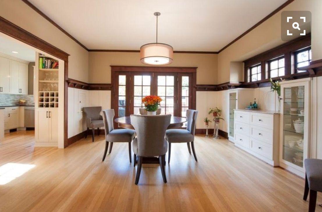 Image Result For White Kitchen Cabinets With Dark Wood Trim Dark Wood Trim White Oak Floors White Wainscoting
