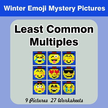 9 Mystery Pictures With 27 Color By Number Math Worksheets Each Worksheet Includes 10 Unique Problems All In 2020 Math Mystery Picture Math Mystery Mystery Pictures