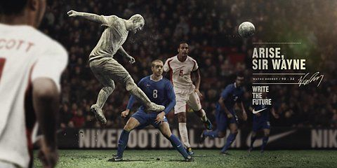 Nike Football Write The Future Rooney Ads Of The World Football Ads Nike Football Nike Ad