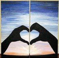 Rezclick Swirlz Art Studio Classes Couples Canvas Painting Couple Painting Painting Canvases