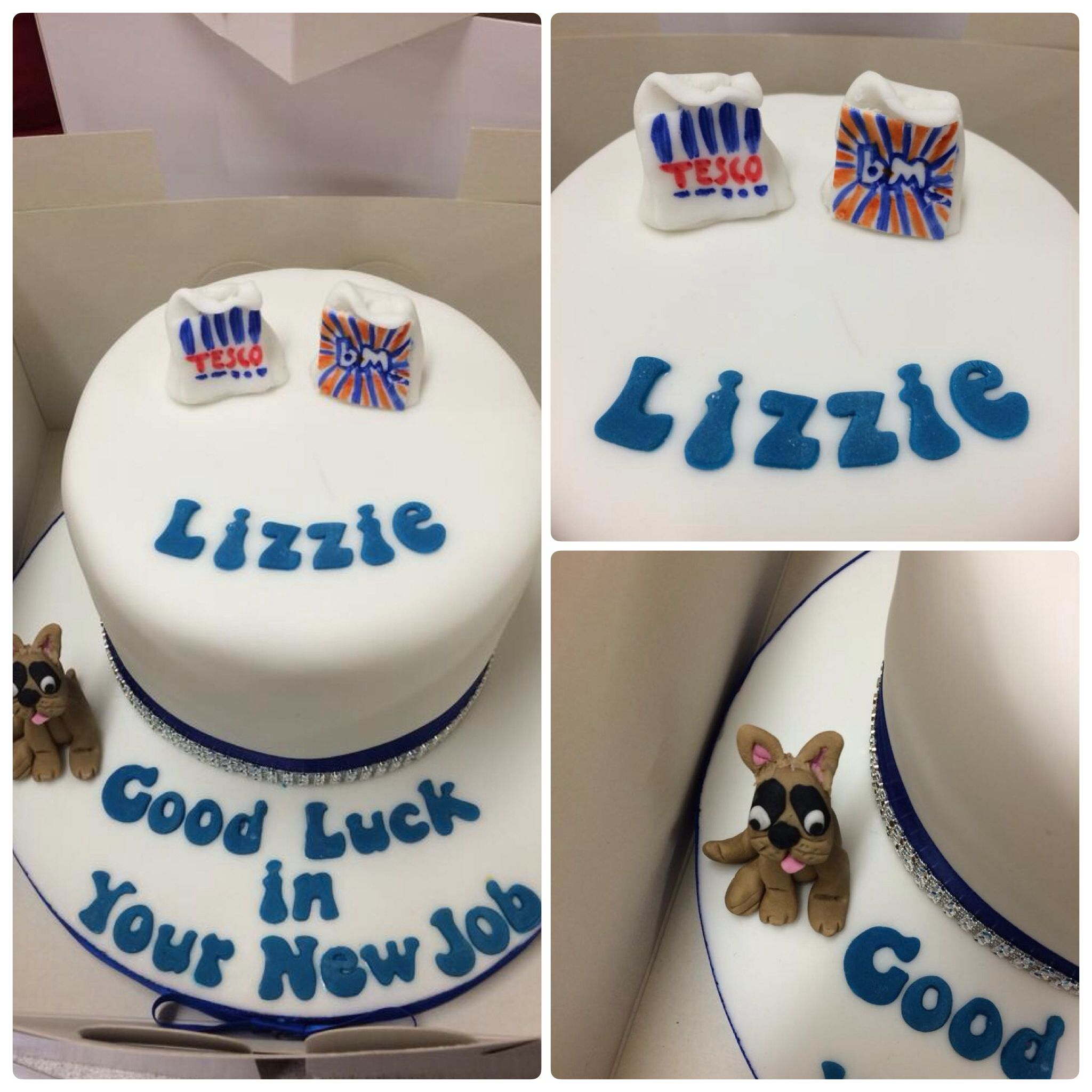 Good luck cakeleaving tesco to be deputy manager at b