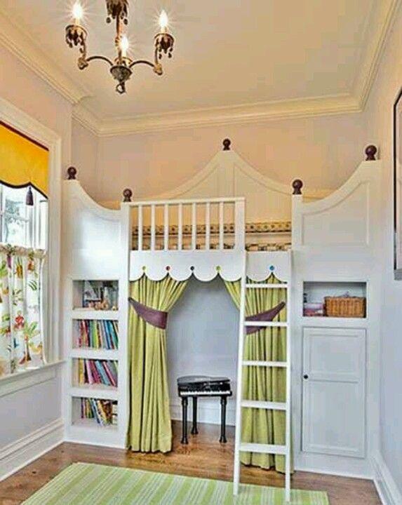 ideasparadecorar habitaciones cuartos infantiles juveniles y ...