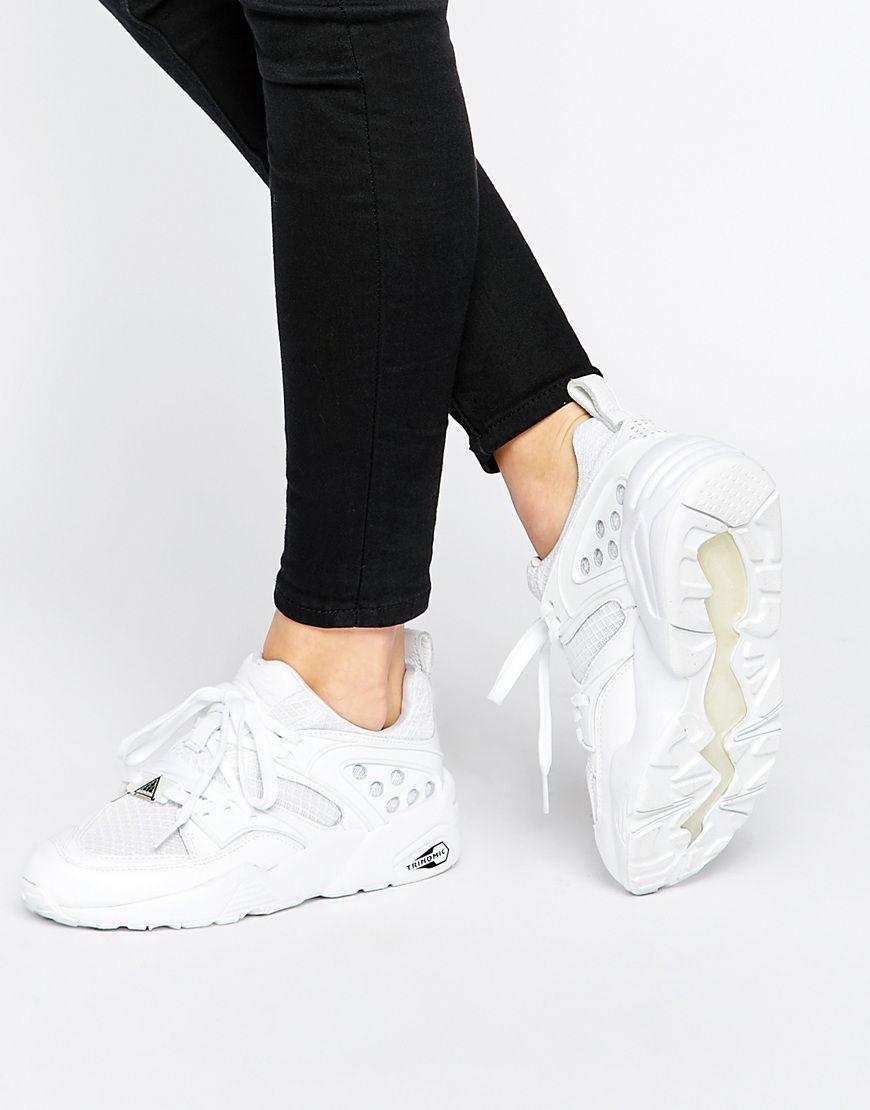 Image 1 of Puma Blaze Of Glory Yin Yang White Sneakers