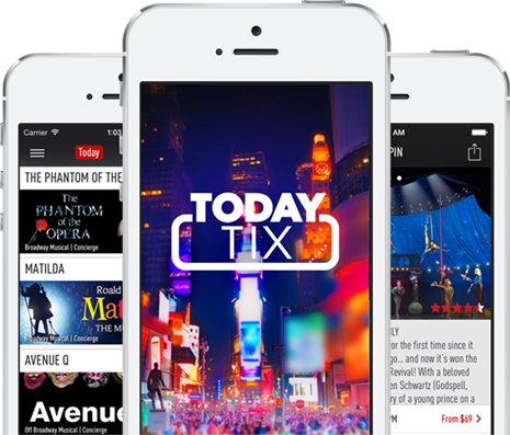 An app for buying discounted Broadway tickets.