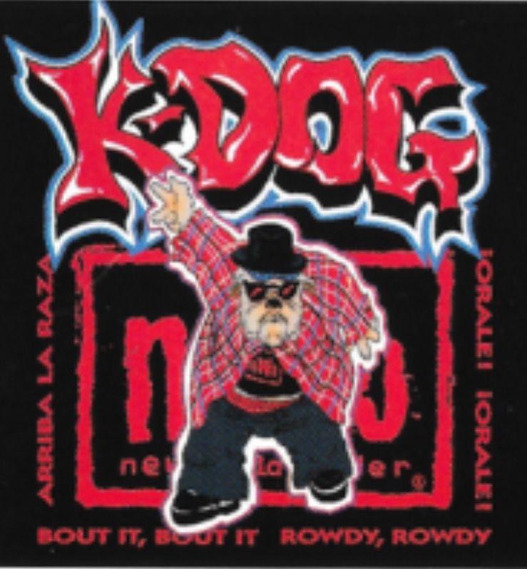 K Dog Wcw Konnan aka K-Dog logo ...