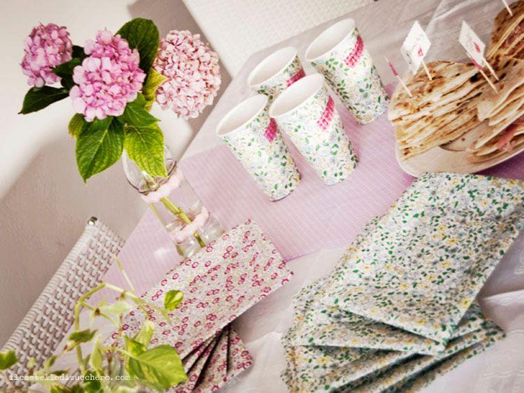 Il castello di zucchero: colori pastello - pastel colours