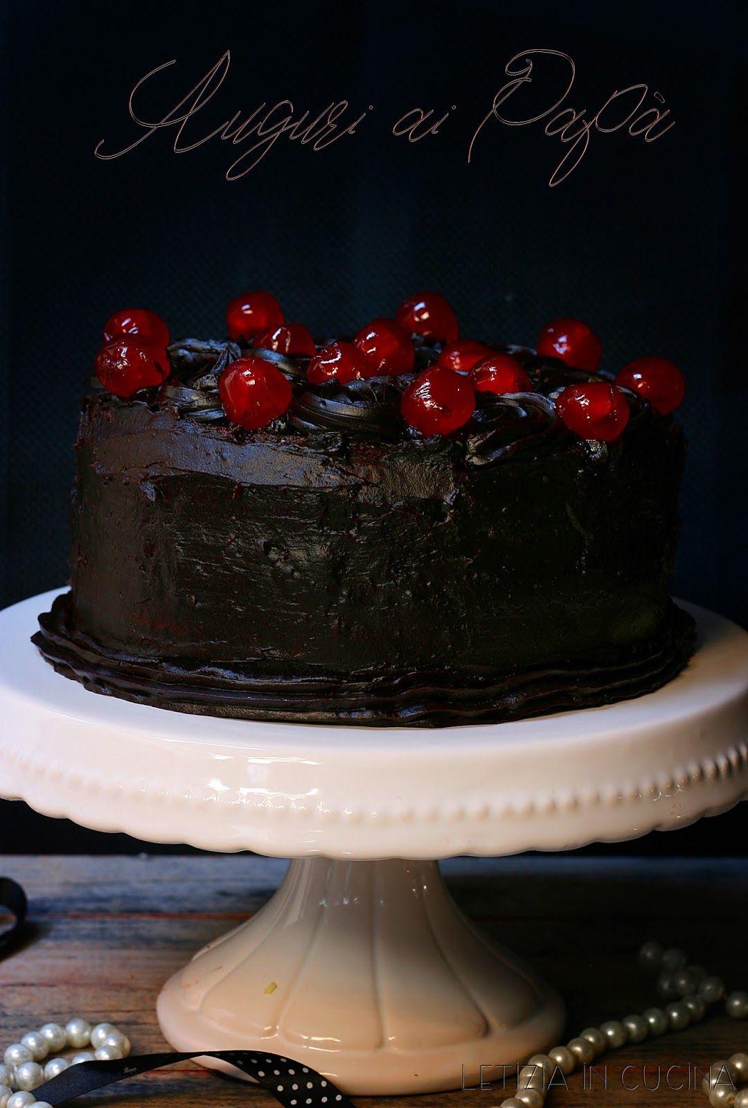 Letizia in Cucina: Simil Black out cake | I miei dolci | Dolci