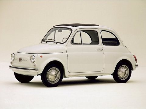 Fiat 500 Vintage One Of The Symbols Of Made In Italy The First Two