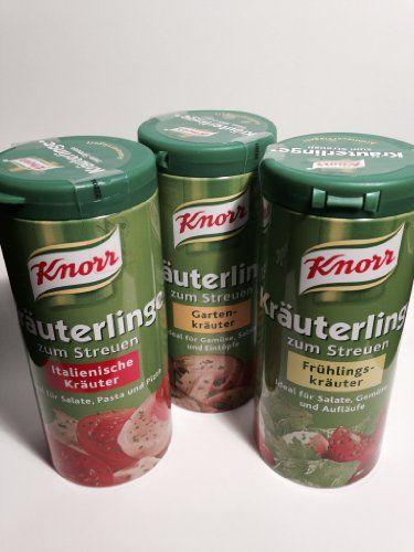 Knorr Garden (1x), Spring (1x) and Italian Herbs (1x) Seasoning Mix (Knorr Kräuterlinge Garten-, Frühlings-, Italienische Kräuter, 2.1oz - 60g Each) Knorr,http://www.amazon.com/dp/B00HUGJPC6/ref=cm_sw_r_pi_dp_JjG2sb1ZZJQ3DE4Q