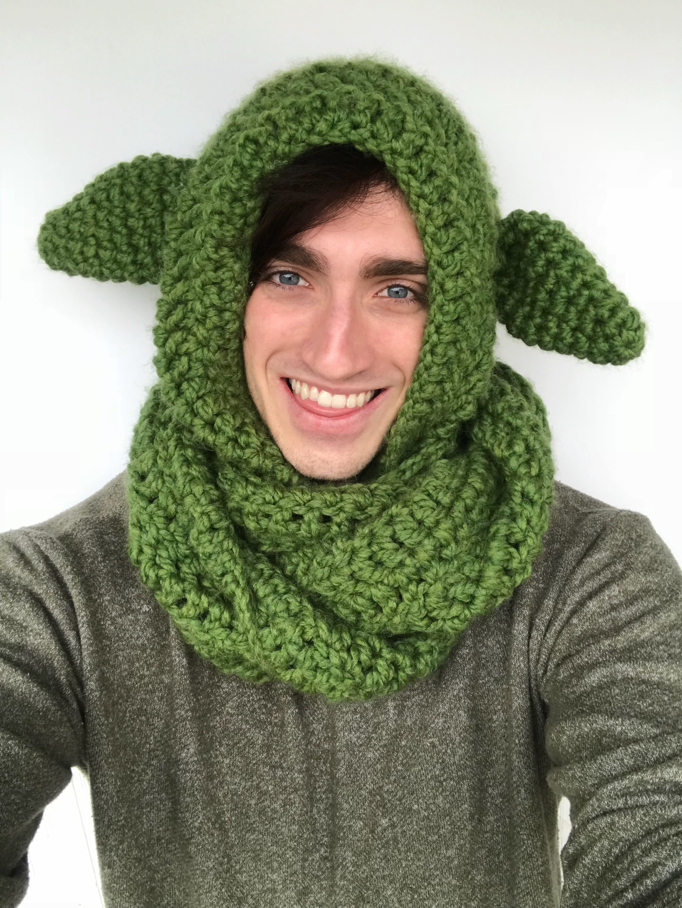 Yoda Scoodie In 2018 Hooks Yarn Pinterest Free Pattern