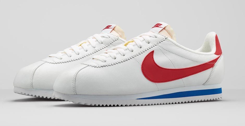 new style d267d 9abce Nike classic Cortez  red swoosh, blue lining. There s something I like  about these but then there s something I really don t 😅