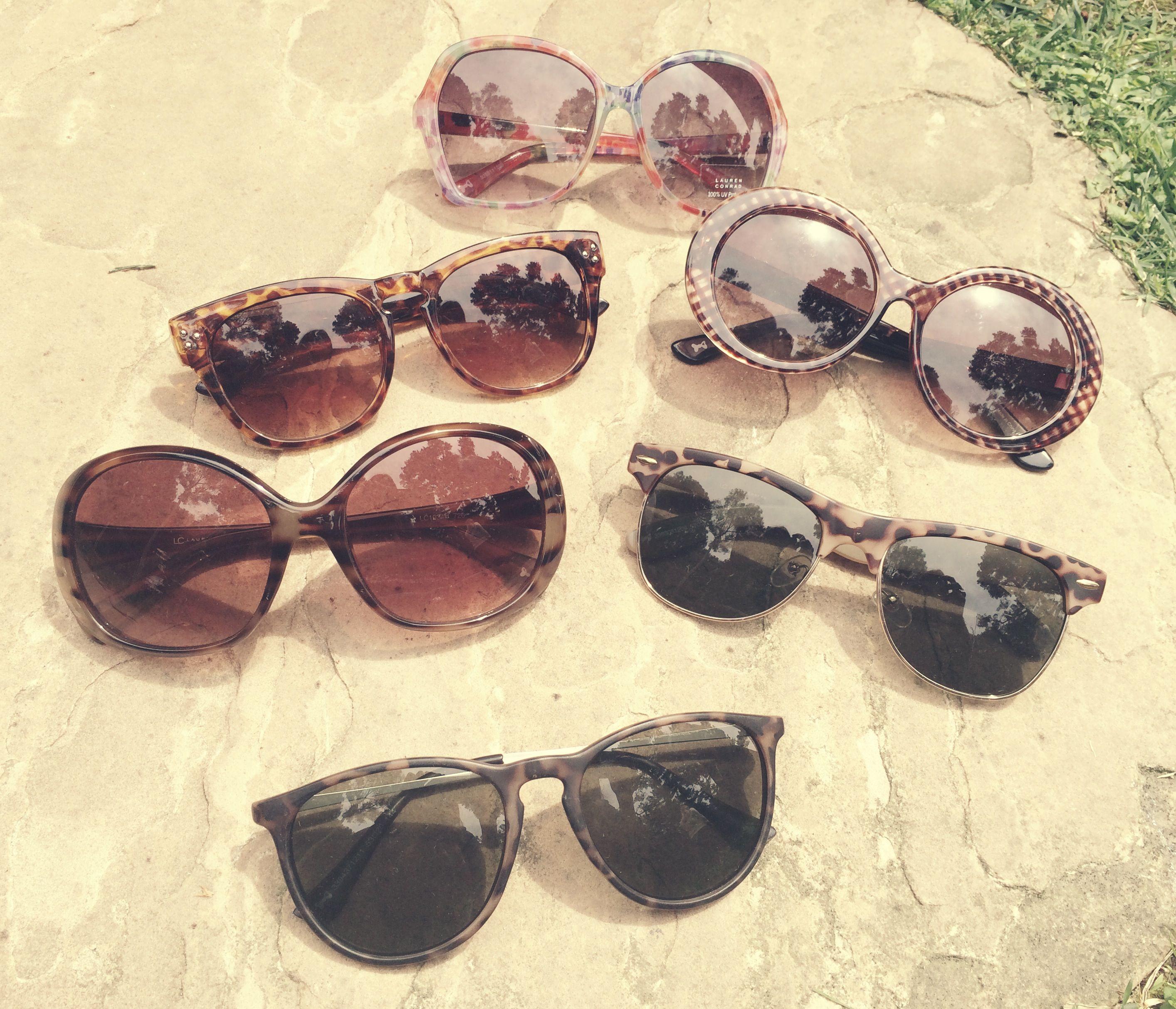 LC Lauren Conrad for Kohl\'s Sunglasses, $14.99 | If i had all the ...