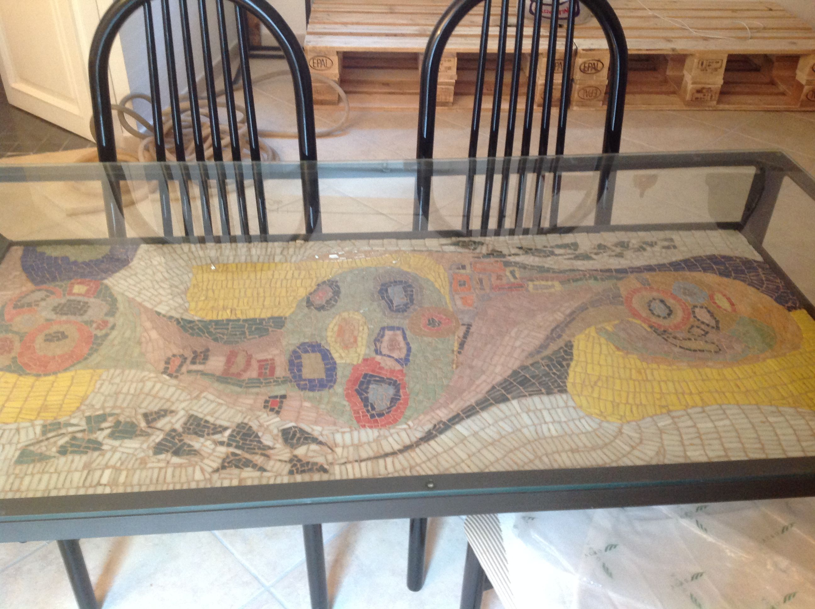 Tavolo Mosaico ~ Mosaic table top big size by il fauno mosaici tavoloinmosaico