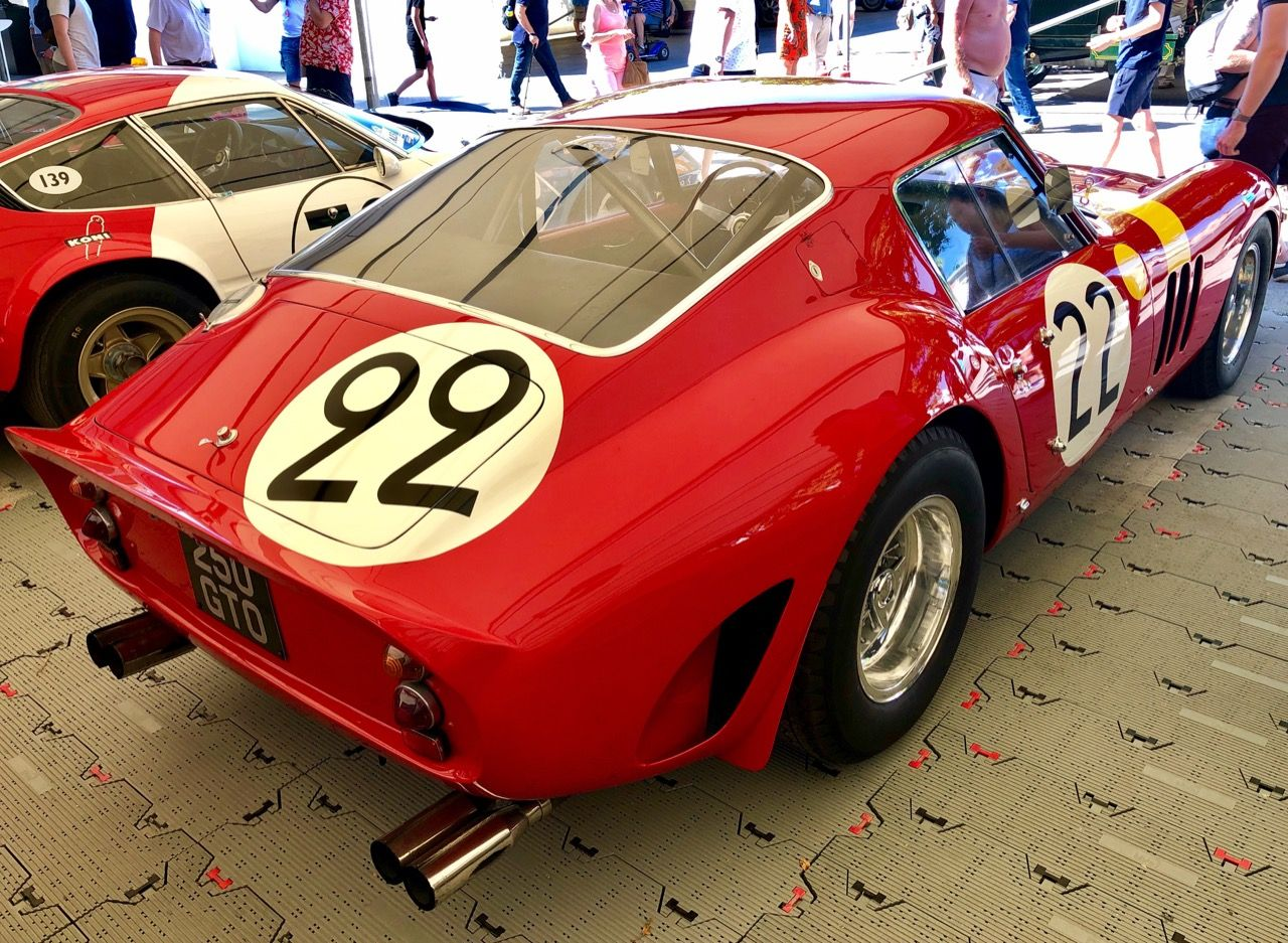 Ferrari 250 gto the goodwood festival of speed making