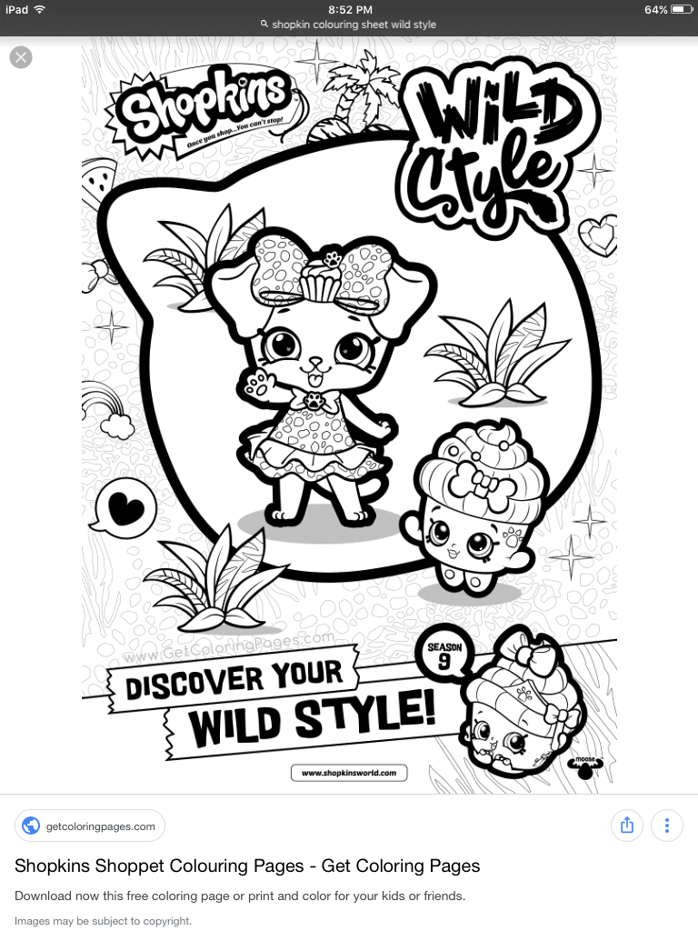 Pin By Tia On Colouring Shopkins Shoppies Shopkin Coloring Pages Shopkins Colouring Pages Colouring Pages
