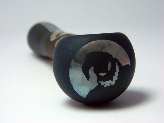 nightmare before christmas pipe by wastelandersartglass on etsy - Nightmare Before Christmas Pipe