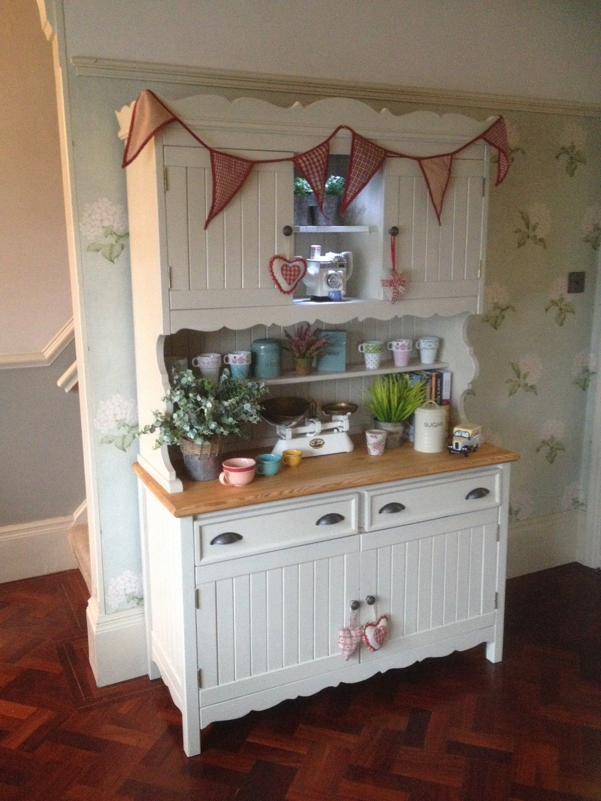 French Country Kitchen Dresser charming french country cottage kitchen dresser large drawers f&b