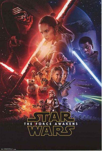 Star Wars The Force Awakens Movie Poster 24x36 – BananaRoad