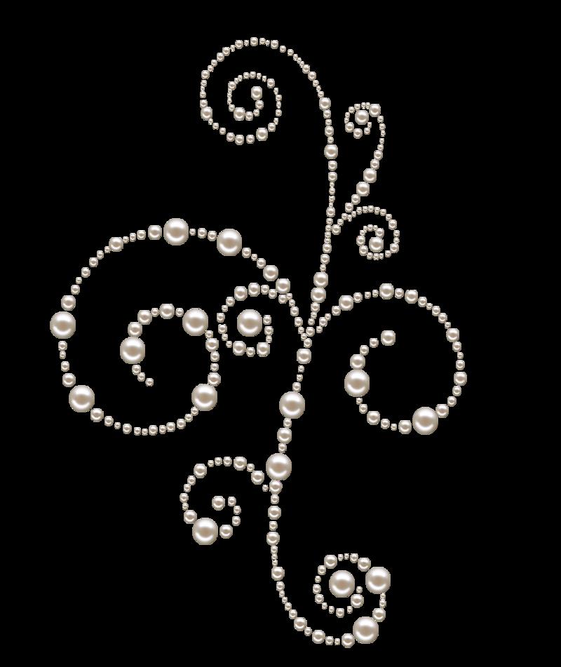 Pearl Swirls Png By Melissa Tm On Deviantart Clip Art Freebies Pearls Swirls